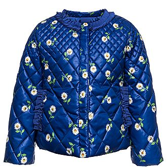 Daisy Print Quilted Jacket