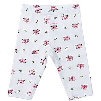 Rose Print Leggings Baby