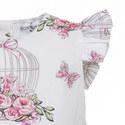 Rose Birdcage Print Dress Baby, ${color}