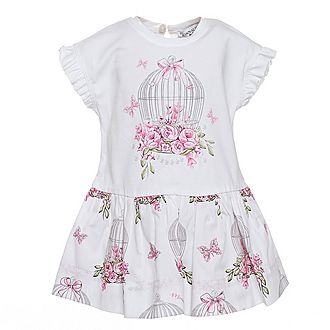 Birdcage T-Shirt Dress Baby