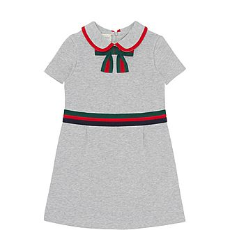 Web Striped Cotton Dress