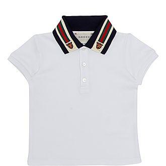 Tiger Web Collar Shirt