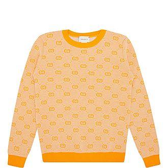 Crew Neck GG Sweater