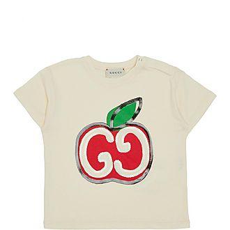 Apple Sequin T-Shirt