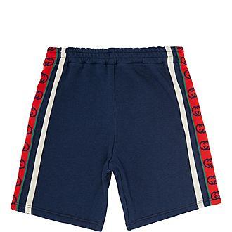 Web Striped Shorts