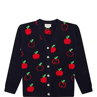 Apple GG Wool Cardigan