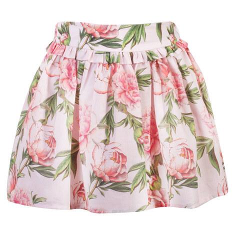 Rose Print Skirt, ${color}