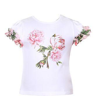 Rose Print T-Shirt