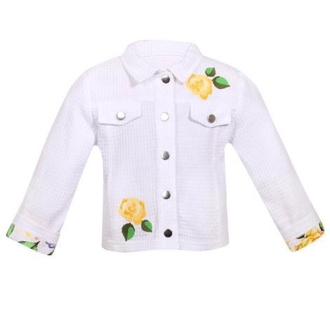 Flower Applique Jacket, ${color}