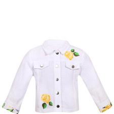 Flower Applique Jacket