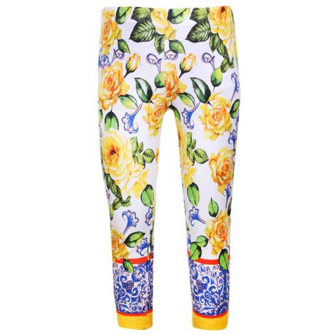 Flower Print Leggings, ${color}