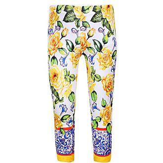 Flower Print Leggings
