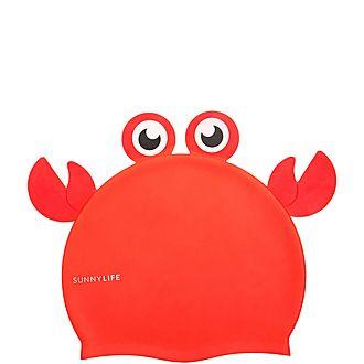 Crabby Swim Cap