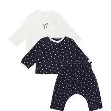 Three-Piece Polka Dot Set Baby