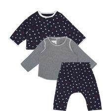 Three-Piece Star And Striped Set Baby