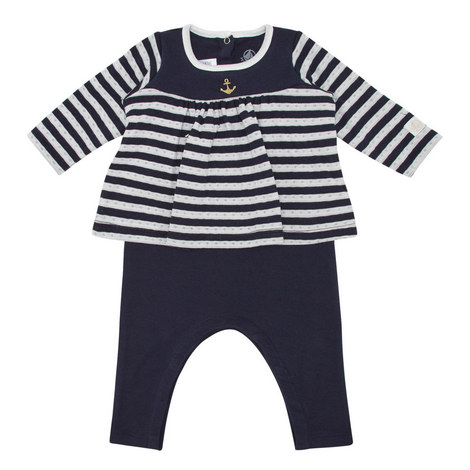 Two-Piece Striped Set Baby , ${color}