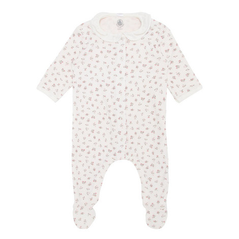 Floral Print Rompersuit Baby, ${color}