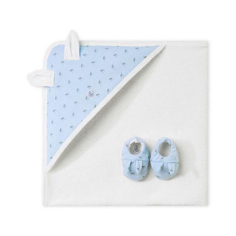 Bath Towel & Slipper Set Baby, ${color}