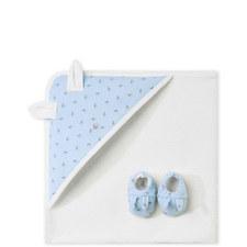 Bath Towel & Slipper Set Baby