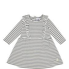 Stripe Print Dress Baby