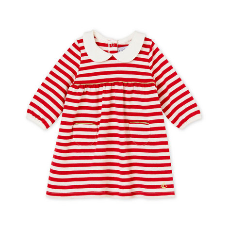 Stripe Dress Baby, ${color}
