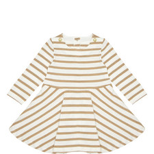 Stripe Print Dress Baby