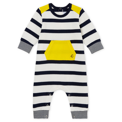 Banane Piqué Romper Baby, ${color}
