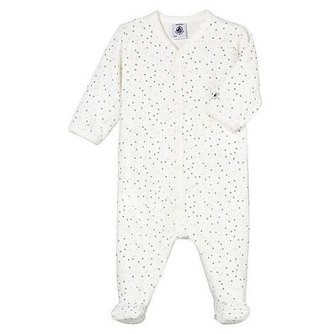 Bibi Star Print Romper Baby, ${color}