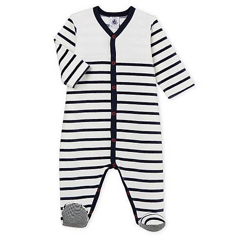 Belly Stripe Romper Baby, ${color}