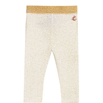 Belita Lurex Band Leggings Baby