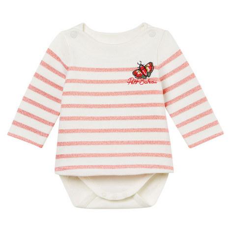 Bestina Stripe Romper Baby, ${color}