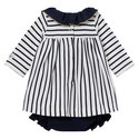 Babar Stripe Dress Baby, ${color}