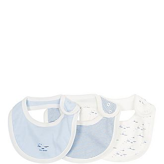 Set of Three Bibs