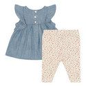 Pleated Dress and Tights Set, ${color}