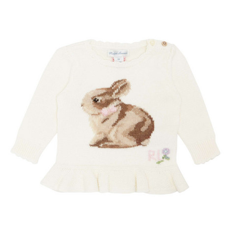 Bunny Rabbit Knitted Sweater, ${color}