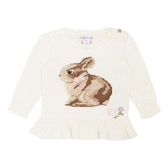 Bunny Rabbit Knitted Sweater
