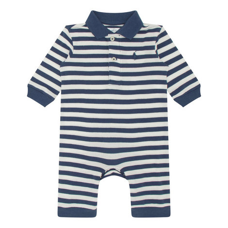 Featherweight Striped Bodysuit, ${color}