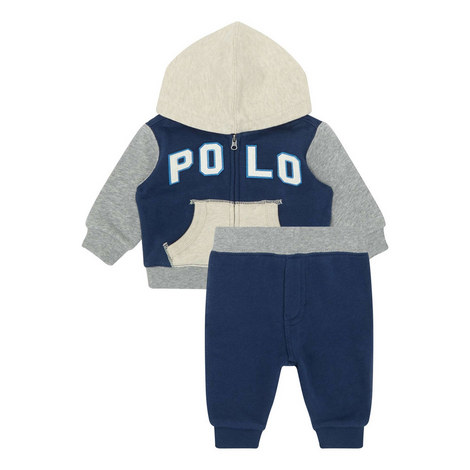 Terry Hoodie and Sweatpants Set Baby, ${color}