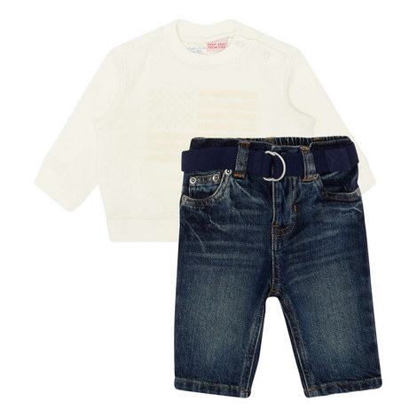 Jeans and Sweater Set Baby, ${color}
