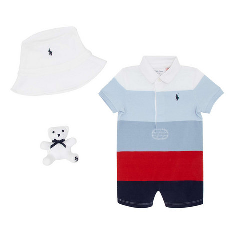 Teddy Romper Boy Set, ${color}