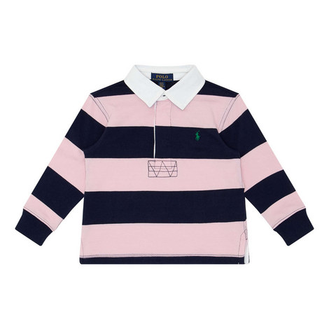 Stripe Rugby Shirt, ${color}
