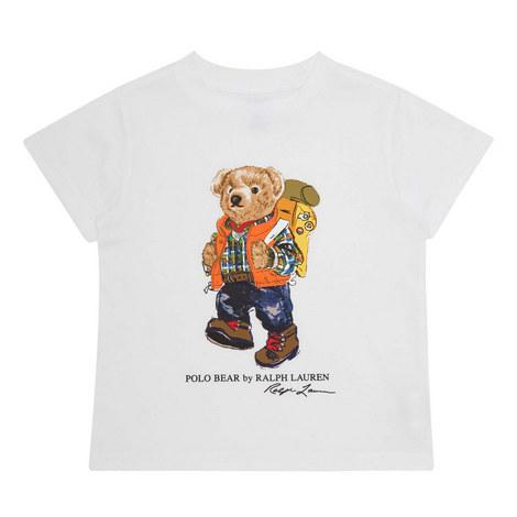 Camping Teddy Bear T-Shirt, ${color}