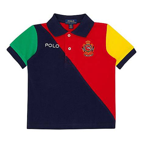 Multi Swatch Polo Shirt, ${color}