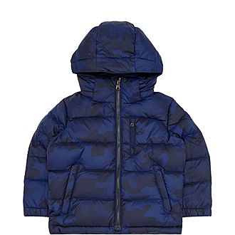 Boys Printed Puffer Jacket