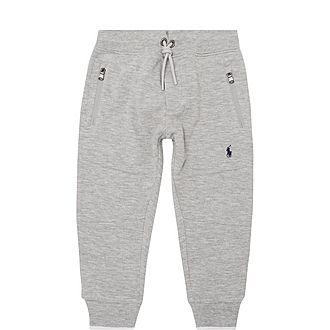 Zipper Logo Sweatpants