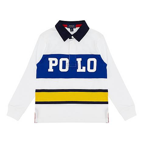Rugger Polo Shirt Boys, ${color}