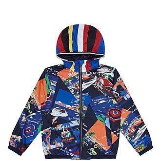 St. Tropez Print Jacket