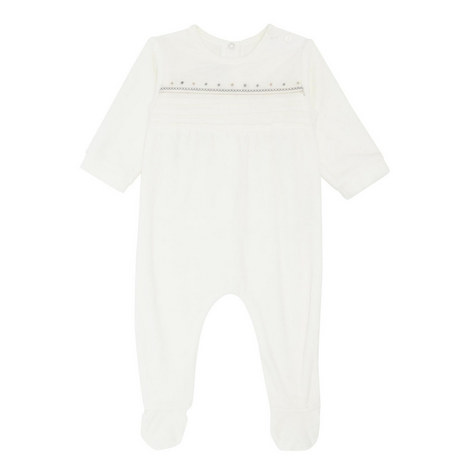 Star Pattern Fleece Sleepsuit, ${color}