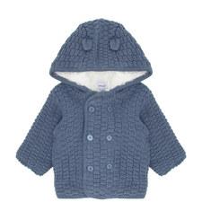 Knitted Hood Coat