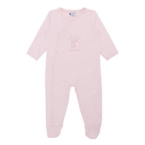 Embroidered Jersey Sleepsuit, ${color}